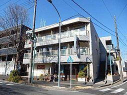 神奈川県横浜市青葉区あざみ野4丁目の賃貸マンションの外観