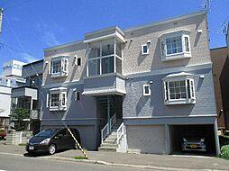 北海道札幌市東区北十七条東17丁目の賃貸アパートの外観