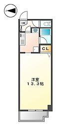 Sun State上飯田[3階]の間取り