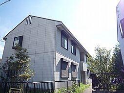 兵庫県神戸市北区鹿の子台北町1丁目の賃貸アパートの外観