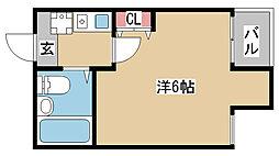 兵庫県神戸市長田区五位ノ池町3丁目の賃貸マンションの間取り