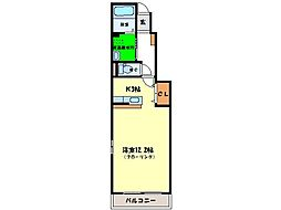 メゾンLoireIII[B103号室]の間取り