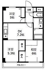 CITY SPIRE横浜和田町(旧KWプレイス横浜和田町)[0403号室]の間取り