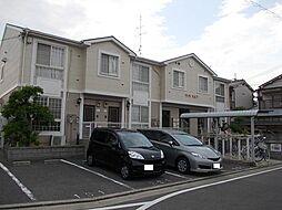 大阪府八尾市萱振町3丁目の賃貸アパートの外観