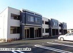 岡山県倉敷市玉島阿賀崎5丁目の賃貸アパートの外観