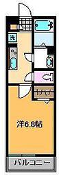 リブリ・イシン[2階]の間取り