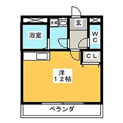 thousandbell 光ヶ丘[2階]の間取り