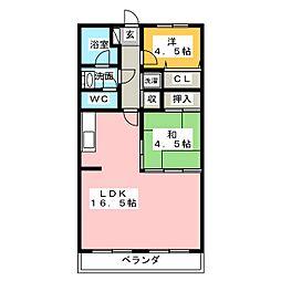 第2前田ビル[3階]の間取り