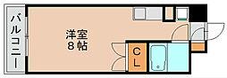 ダイナコート箱崎[2階]の間取り