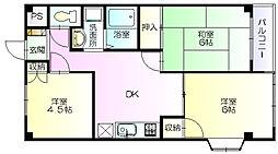 アーバン東横[304号室]の間取り