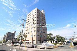 岡山県岡山市南区東畦の賃貸マンションの外観
