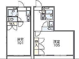 GRACEIII[2階]の間取り
