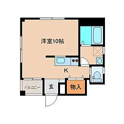 静岡県静岡市清水区本郷町の賃貸マンションの間取り