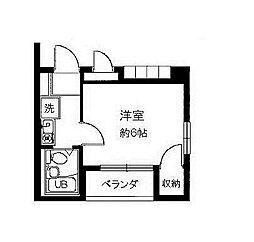 ラポール町田[1階]の間取り