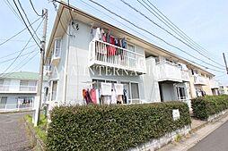 埼玉県草加市弁天5丁目の賃貸アパートの外観