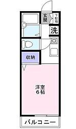 ソフィアIII[2階]の間取り