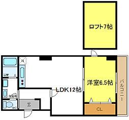 オーナーズマンション西脇[6階]の間取り