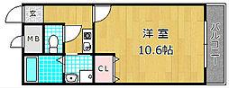 アンプルールモンターニュII[2階]の間取り