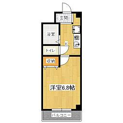 J・Tトキジン[2階]の間取り