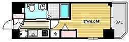 クリスタルグランツ大阪センター[9階]の間取り
