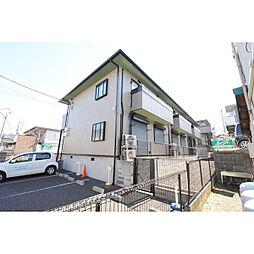 埼玉県川越市大字砂新田の賃貸アパートの外観