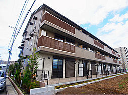 千葉県流山市大字木の賃貸アパートの外観