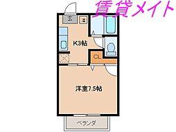 メゾン岡本(積和)[1階]の間取り