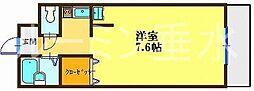 コミュニス西神戸[4階]の間取り
