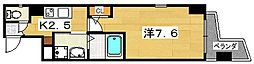 プラリア東田宮[7階]の間取り