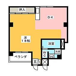 Life inn 桜山 西館[2階]の間取り