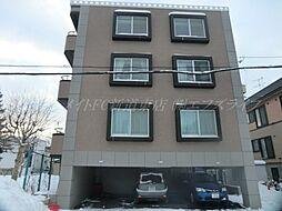 北海道札幌市北区百合が原8丁目の賃貸マンションの外観