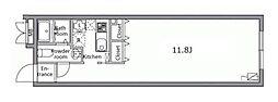 レジディア経堂[403号室]の間取り