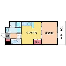 ペットマンション富士[2階]の間取り