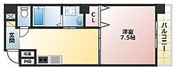 シーラビフォリア[6階]の間取り
