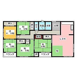 コーポ浅田[3階]の間取り