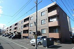 フラッツB・O[1階]の外観