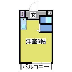ハイツTOMITA[2階]の間取り