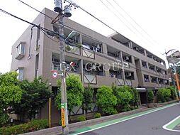 東京都調布市八雲台2丁目の賃貸マンションの外観