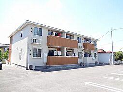 愛知県日進市浅田町平池の賃貸アパートの外観