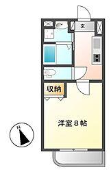 シティライフ覚王山北[1階]の間取り