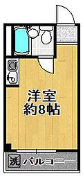 GURANDCUBE大正通[3階]の間取り