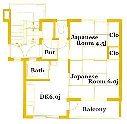 川島町[2階]の間取り