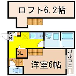 ルノンキュール (ルノンキュール)[1階]の間取り