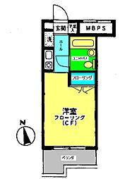 ライオンズマンション南橋本第二[309号室]の間取り