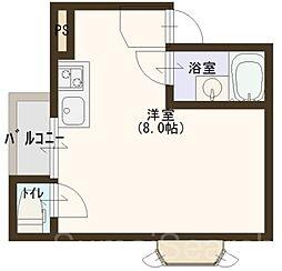 大啓ビル[3階]の間取り