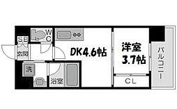 ライフガーデン新大阪II[4階]の間取り