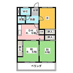 シティ15[3階]の間取り