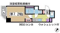 アドバンス三宮ステージア[8階]の間取り