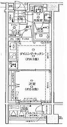 ラ・コスタ横浜山下公園[9階]の間取り