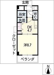 ACCESS28[2階]の間取り